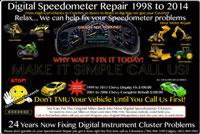 Speedometer Repair 123/ABC Alberta, Canada, Calgary, Edmonton, Red Deer and Surrounding Areas Call 4