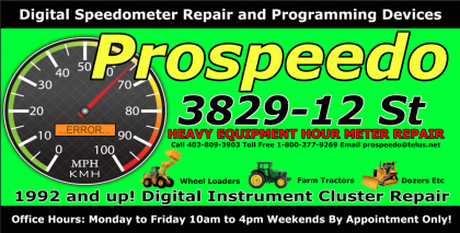 Hour Meter Repair Call 403-809-3903